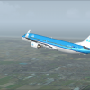 Turning west heading to London Heathrow