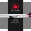 Air Canada 787-9 - C-FRTU