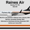 "N5313R 737-700 ""Gull of Los Angeles"" - The Road Not Taken"