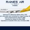 "N740WA 747-400BSCF ""Captain Gerald Barlow"" - Yellow Tailed Haulers"