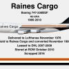 "N512RA 747-230BSF ""President Ed Collins"" - Going Jumbo"