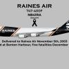 "N841RA 747-400F ""Captain Tom Tanner"" - Falling Star (Flight 387)"