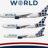 World Airways Fleet - 2021