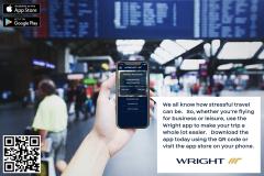 Wright Airways   App Poster