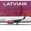 Boeing 737-800 Latviair