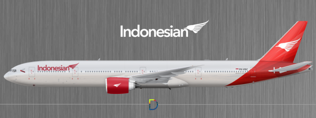 Indonesian Airlines Boeing 777-300ER