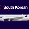 South Korean Airlines A330-200 (2010-)