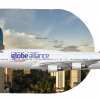 """Indonesian Airlines Boeing 747-400 PK-HNM """"Globe Alliance Livery"""""""