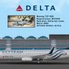Skyteam 737 delta livery