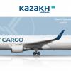 Kazakh Airlines Cargo Boeing 767-300ER (BCF)