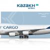 Kazakh Airlines Cargo Boeing 747-400 (BCF)