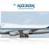 Kazakh Airlines Boeing 747-400M (Combi)