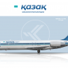 Kazakh Airlines Boeing 717-200