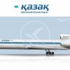 Kazakh Airlines Tupolev TU-154M
