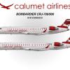 Calumet Bombardier CRJ-700 and CRJ-900