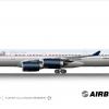 Adarna / Lufthansa Airbus A340-600