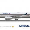 Adarna Airbus A330 Retro Livery