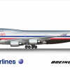 American Airlines Boeing 747-423