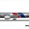 FedEx Express Boeing 777F Flying Tiger Line