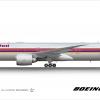 Thai Airways Boeing 777-300ER Retro Livery