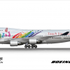 Air Mandarin Boeing 747-400 | Taiwan, Touch Your Heart (2002)