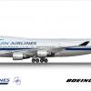 Hanjin Airlines Boeing 747-400