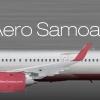 Aero Samoa Branding  A321