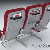 Aero Samoa Branding  Seats