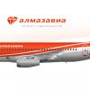 Almazavia - Sukhoi Superjet 100