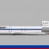 Northfleet Tupolev Tu-154M