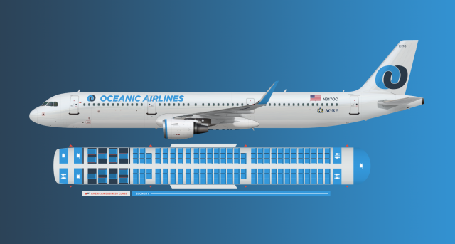 Oceanic A321 American Business - Brand By Agre - Gallery ...