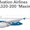 Salvation Airlines Malta Airbus A320-200 'Maximus'