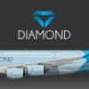 Diamond Airbus A380-800