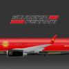 Scuderia Ferrari Boeing 737-800 Formula One 2015