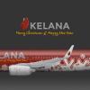 Kelana Boeing 737-800 Christmas & New Year Edition