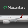 Nusantara Boeing 737-800