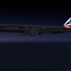 Delta 757 in Cruise