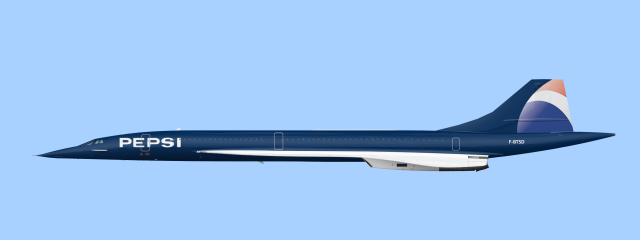 Concorde livrea pepsi