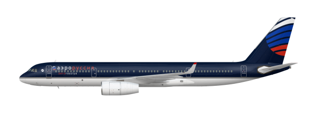aerorossiya Tupolev Tu-204