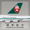 Emerald Airlines Livery B747-8i