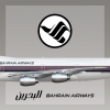 Bahrain Airways Livery B747-200