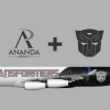 Airbus A340-300 Transformers Livery