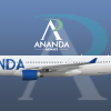 Ananda Airways Airbus A330-300 Russian Livery