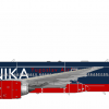 Balkanika Yugoslav livery