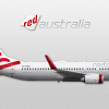022 - Red Australia, Boeing 737-800