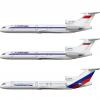 Tupolev Tu-154M САЛЮТAВИА & ТРАНСРОССИЯ