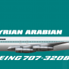 Boeing 707-320B Syrian Arabian