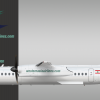 Western Asia Airlines Bombardier Q400