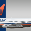 Ishaan Airlines Boeing 737 200