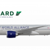 "10. Vanguard Airlines Boeing 777-200LR ""DWA Alliance Livery 2020"""